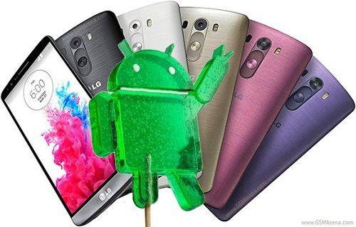 LG G3 Android 5.0 güncellemesi Avrupa'ya yayılıyor