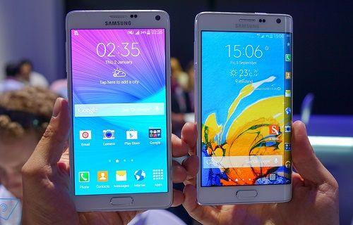 Galaxy Note 4 ve Galaxy Note Edge doğrudan Android 5.0.1'e güncellenecek