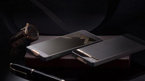 Titanyum ve altın kaplama lüks akıllı telefon: Gresso Regal Black