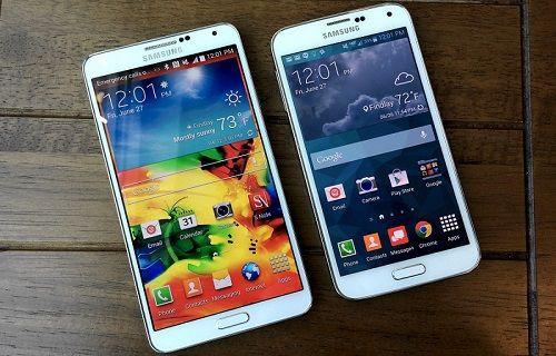 Andrid 5.0.1, Galaxy Note 4-Note Edge ve Galaxy S5'te görüntülendi