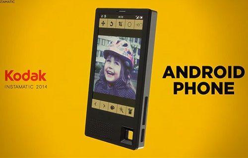 Kodak, Android işletim sistemli cihaz serisi açıklamaya hazırlanıyor