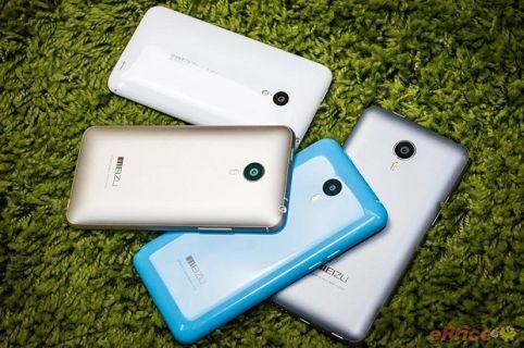 Meizu M1 Note, MX4, MX4 Pro ve MX3  yanyana!