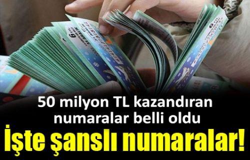 Milli Piyango 2014-2015 yılbaşı büyük ikramiyesini kazanan numaralar ve talihliler! Sıralı tam liste