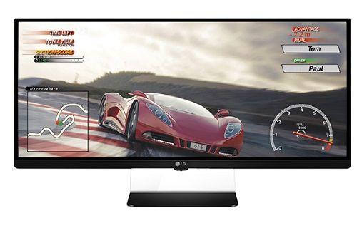 LG'den 34-inç kavisli ekrana sahip monitör
