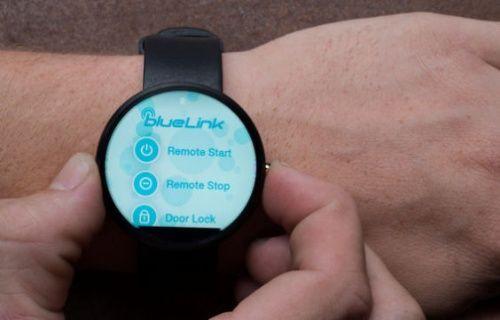 Akıllı saatler ile otomobilleri uzaktan çalıştırmak mümkün olacak!