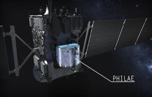 Kuyruklu yıldız keşif aracı Philae kayboldu!
