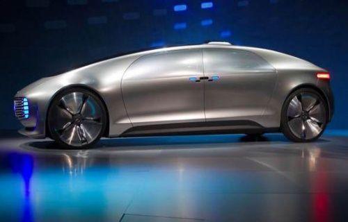 CES 2015'in en gözde sürücüsüz otomobili: Mercedes F015 Luxury in Motion
