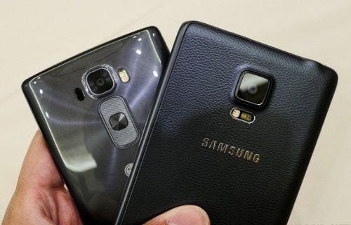 LG G Flex 2 -Galaxy Note 4 - iPhone 6 Plus kamera karşılaştırması