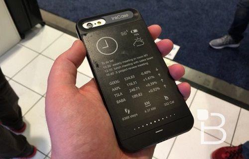 [CES 2015] iPhone 6'lar için e-mürekkep ekranlı kılıf: InkCase