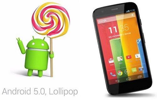 Moto G için Android 5.0 Lollipop güncellemesi Türkiye'de!