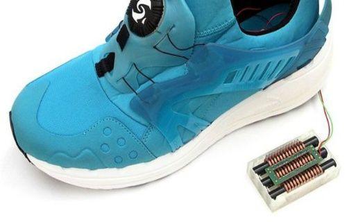 Elektrik üreten ayakkabılar geliyor!
