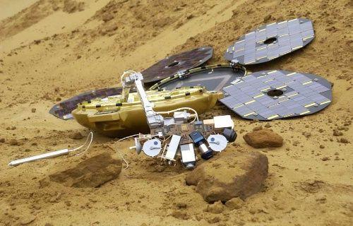 12 yıldır kayıp olan Mars robotubulundu