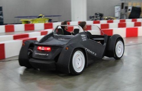 3D yazıcıyla üretilen otomobil Strati satışa sunuluyor