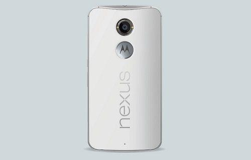 Nexus 6'da arka kapak kasadan ayrılıyor