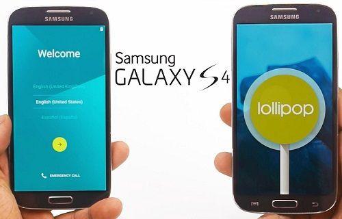 Galaxy S4'e Android 5.0.1 Lollipop yüklendi, işte görüntüler