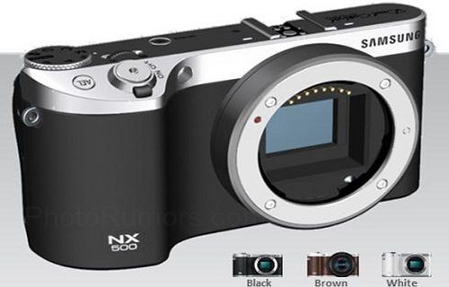 Samsung'dan iki yeni aynasız kamera geliyor: NX500 ve NX3300