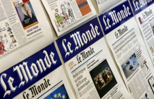 Fransız Le Monde gazetesinin Twitter hesabı hacklendi!