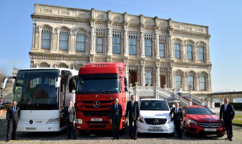 Mercedes-Benz Türk 2014 yılında rekor kırdı