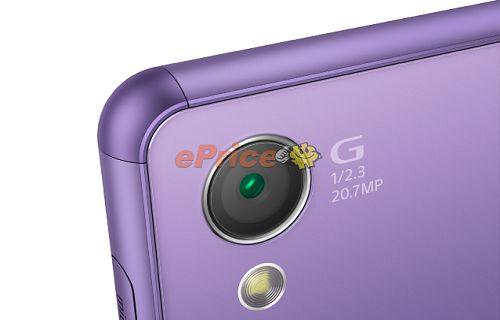 Xperia Z3'ün mor rengi tanıtıldı