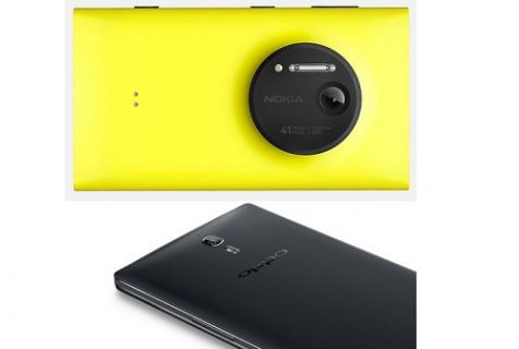 41 megapiksel 50 megapiklsele karşı! Lumia 1020 ve Oppo Find 7 kozlarını paylaşıyor