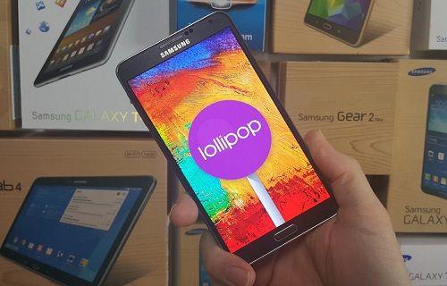 Galaxy Note 3 için Android 5.0 güncellemesi resmen başladı