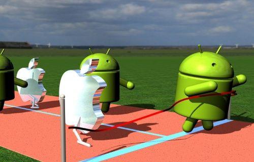 Android, iOS'un rekorunu kırdı ama nasıl?