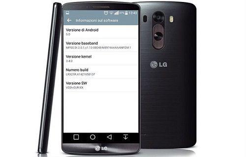LG, G3 için Avrupa'da yeni bir güncelleme başlattı