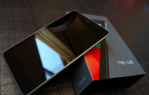 Nexus 7 2012 ve 2013 LTE sürümleri için Android 5.0.2 Lollipop yayınlandı!