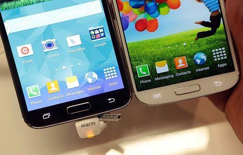 Galaxy S'ten Galaxy S5'e TouchWiz'in evrimi