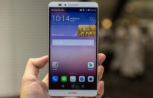 Huawei'in üst düzey akıllı telefonu  Mate7 raflardaki yerini aldı