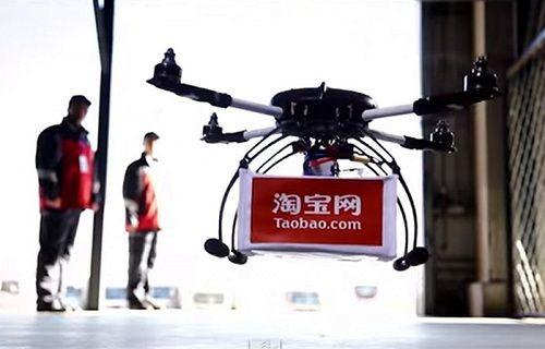 Alibaba, insansız hava aracıyla deneme amaçlı teslimatlara başladı