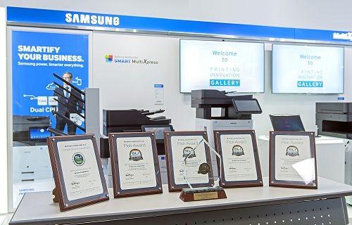 Samsung marka yazıcılara farklı farklı 5 ödül