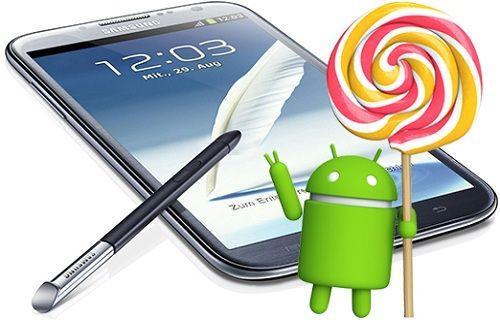 Galaxy Note II'nin Android 5.0 güncellemesini alacağı resmen teyit edildi