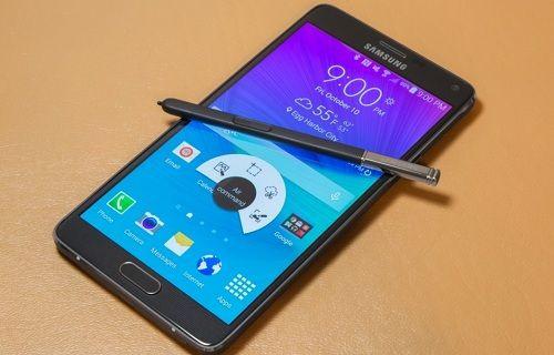 Android 4.4 ve Android 5.0 yüklü Galaxy Note 4 görüntülü karşılaştıması