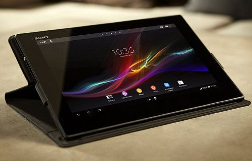 İşte Sony'nin 2K ekranlı tableti:  Xperia Z4 Tablet