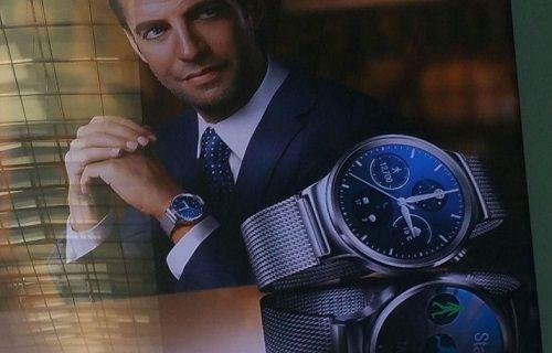 Huawei'in MWC 2015'te açıklayacağı akıllı saat kameralara yakalandı