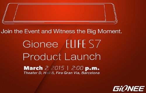 Ultra ince Gionee Elife S7 hakkında yeni detaylar!