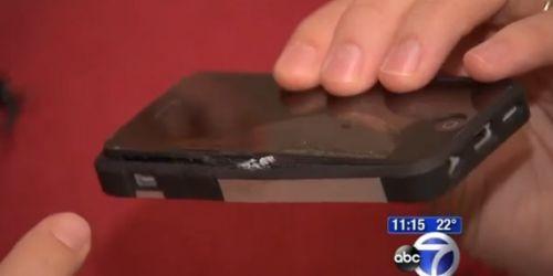 iPhone 5C patladı ve sahibini yaktı