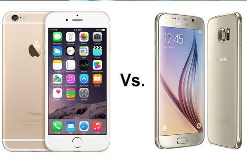 Galaxy S6 ve iPhone 6 karşılaştırması!
