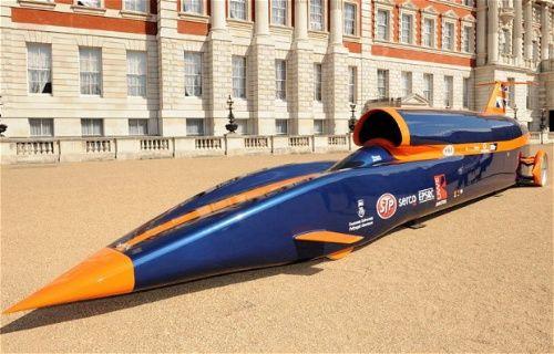 Dünyanın en hızlı aracı 'Tazı' geliyor!