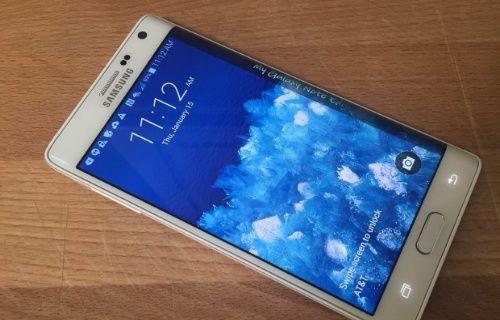 Samsung Galaxy Note 5 Edge çift tarafli kavisli ekran ile gelebilir!