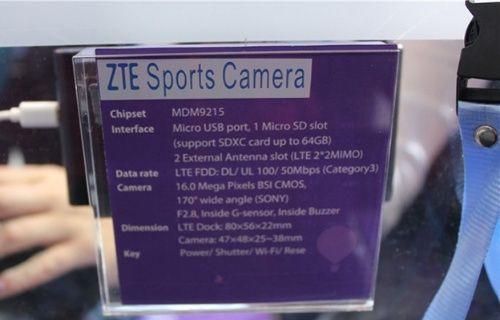 ZTE, yeni aksiyon kamerası MF970'i tanıttı!
