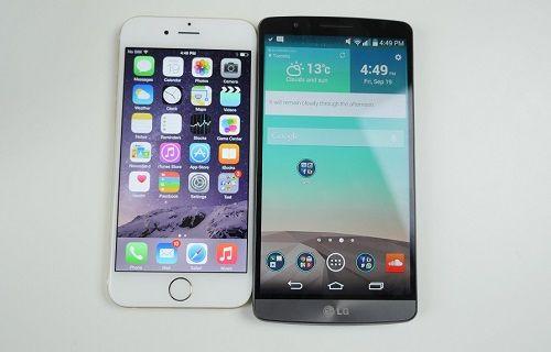 MWC 2015: iPhone 6 ve LG G3 en iyi akıllı telefonlar seçildi