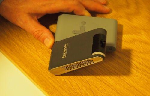 Lenovo cep projektör'ünü tanıttı [Video]