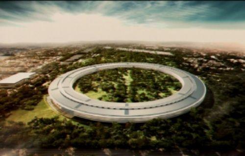 Apple'ın yeni kampüsü 4K video destekli drone ile görüntülendi! [Video]