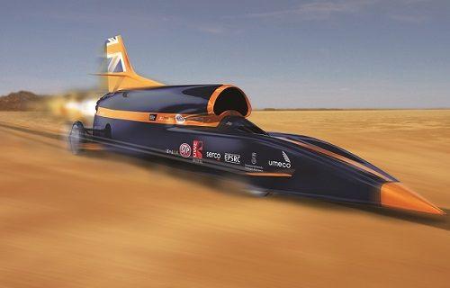 Dünyanın en hızlı aracı Tazı test sürüşü için hazır