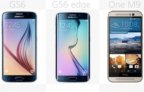 Rakamlarla karşılaştırma: Galaxy S6 - Galaxy S6 Edge - One M9