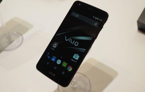 VAIO marka ilk akıllı telefon tanıtıldı!