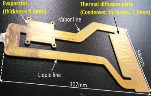 Fujitsu mobil cihazlar için 1mm inceliğinde ısı döngülü soğutma sistemi geliştirdi!