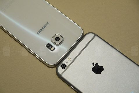 Galaxy S6 - iPhone 6 Plus kamera karşılaştırması